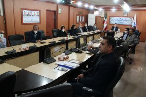 جلسات کمیته تحقیقات شرکت آب و فاضلاب استان قزوین