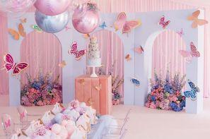 اتاق با تزئین رنگ های پاستیلی