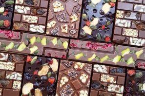 انواع مختلف شکلات تخته ای