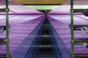 نمایی ازدستگاه بافت موکت های سیزل در نمایشگاه مجازی مبلمان و تجهیزات اداری