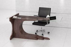 میز شیشه ای مدیریتی در نمایشگاه مجازی تجهیزات اداری