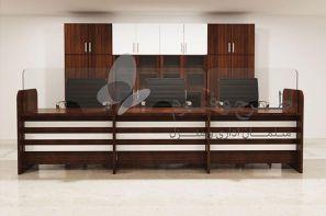 میز اداری طرح و فرم در غرفه مجازی نمایشگاه مبلمان