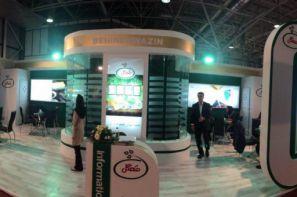 غرفه ی شرکت مهگل در نمایشگاه مجازی صنایع غذایی