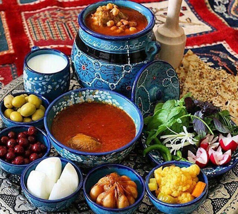 جشنواره سفره ایرانی، غذای ایرانی اراک 98