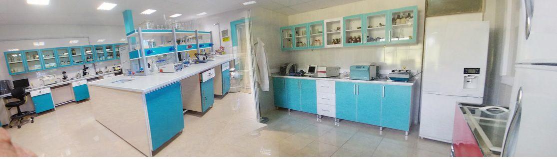 آزمایشگاه مرکز تحقیقات و آموزش کشاورزی و منابع طبیعی استان قزوین