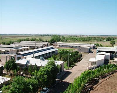 نمای بالا مرکز تحقیقات و آموزش کشاورزی و منابع طبیعی استان قزوین