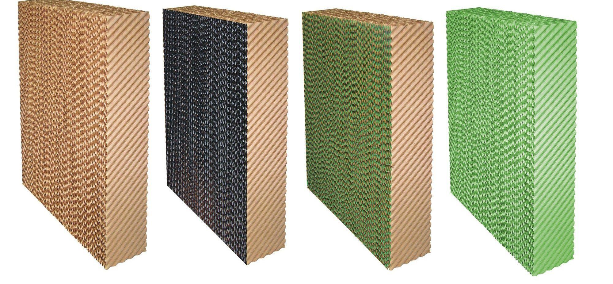 انواع مختلف پد سلولزی شرکت هوا سلولز